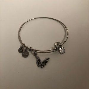 Alex and ani butterfly bracelet